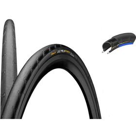 "Continental Ultra Sport II Performance Tyre 28"" folding, black/blue"